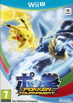 Copertina del gioco Pokkén Tournament per Nintendo Wii U