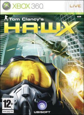 Copertina del gioco Tom Clancy's HAWX per Xbox 360