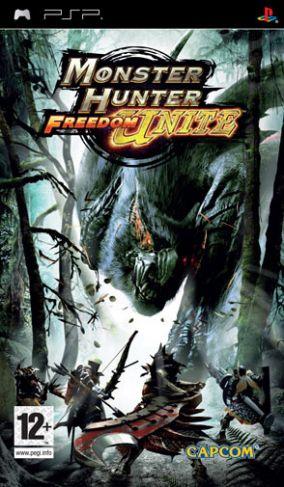 Immagine della copertina del gioco Monster Hunter Freedom Unite per PlayStation PSP