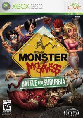Copertina del gioco Monster Madness: Battle for Suburbia per Xbox 360