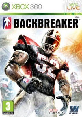 Copertina del gioco BackBreaker per Xbox 360