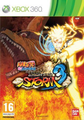 Copertina del gioco Naruto Shippuden: Ultimate Ninja Storm 3 per Xbox 360