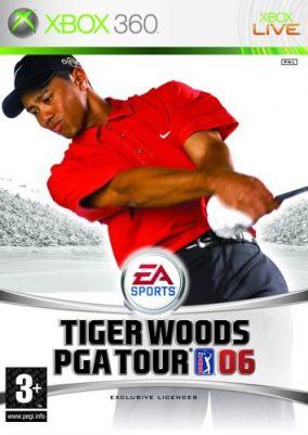 Copertina del gioco Tiger Woods PGA Tour 06 per Xbox 360
