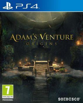 Immagine della copertina del gioco Adam's Venture: Origins per PlayStation 4
