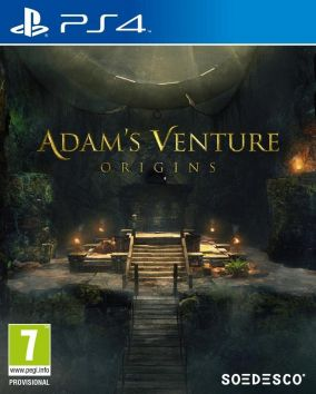 Copertina del gioco Adam's Venture: Origins per PlayStation 4