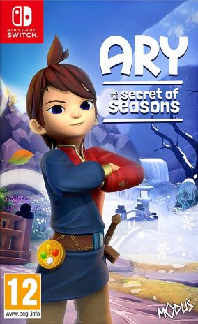 Copertina del gioco Ary and the Secret of Seasons per Nintendo Switch
