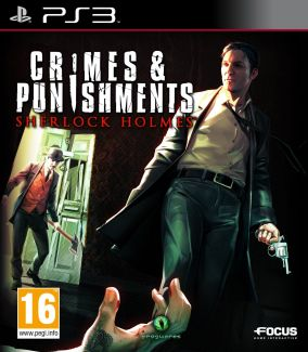Copertina del gioco Sherlock Holmes: Crimes & Punishments per PlayStation 3