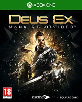 Immagine della copertina del gioco Deus Ex: Mankind Divided  per Xbox One