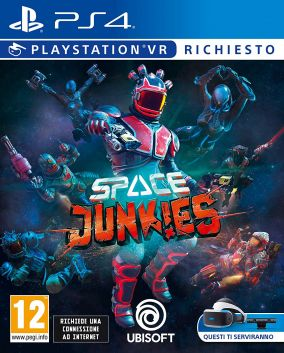 Copertina del gioco Space Junkies per PlayStation 4