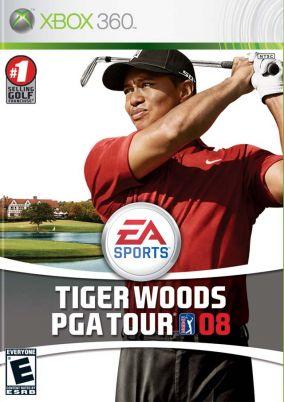 Immagine della copertina del gioco Tiger Woods PGA Tour 08 per Xbox 360