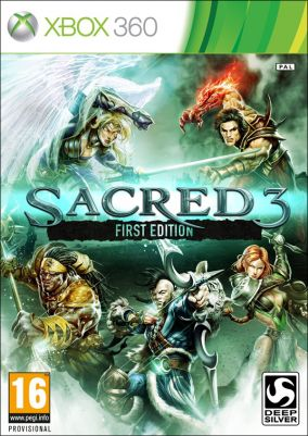 Immagine della copertina del gioco Sacred 3 per Xbox 360