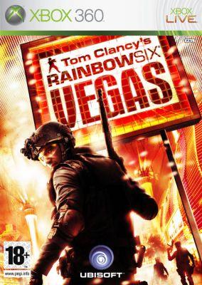 Immagine della copertina del gioco Tom Clancy's Rainbow Six Vegas per Xbox 360