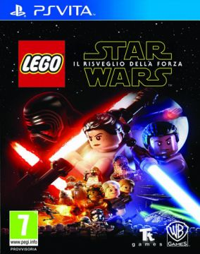 Immagine della copertina del gioco LEGO Star Wars: Il risveglio della Forza per PSVITA