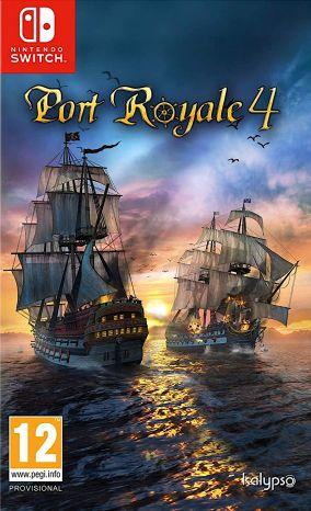 Copertina del gioco Port Royale 4 per Nintendo Switch