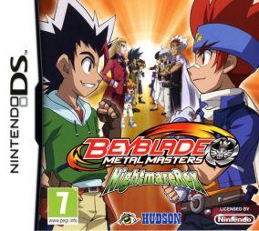Copertina del gioco Beyblade: Metal Masters per Nintendo DS