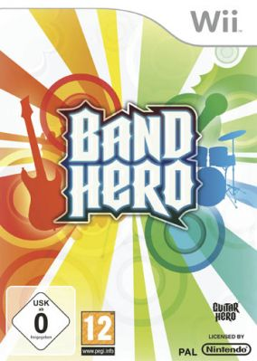 Immagine della copertina del gioco Band Hero per Nintendo Wii
