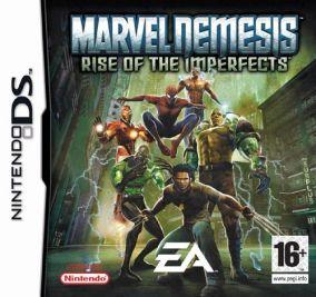 Immagine della copertina del gioco Marvel Nemesis: L'Ascesa degli Esseri Imperfetti per Nintendo DS