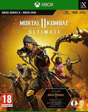 Immagine della copertina del gioco Mortal Kombat 11 Ultimate per Xbox One