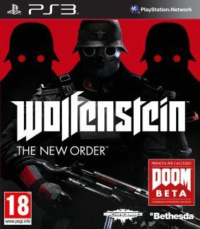 Copertina del gioco Wolfenstein: The New Order per PlayStation 3