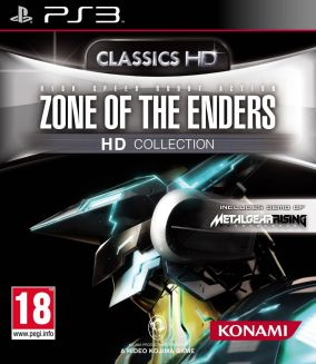 Copertina del gioco Zone of the Enders HD Collection per PlayStation 3