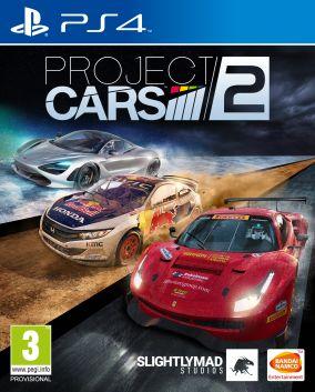Immagine della copertina del gioco Project CARS 2 per Playstation 4