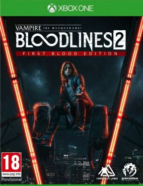 Copertina del gioco Vampire: The Masquerade - Bloodlines 2 per Xbox One