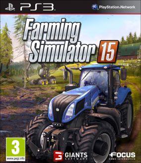 Immagine della copertina del gioco Farming Simulator 15 per PlayStation 3