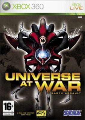 Copertina del gioco Universe at War: Earth Assault per Xbox 360