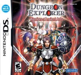 Immagine della copertina del gioco Dungeon Explorer: Warriors of Ancient Arts per Nintendo DS