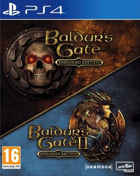 Copertina del gioco The Baldur's Gate: Enhanced Edition per PlayStation 4