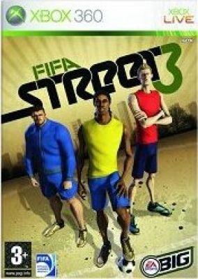 Copertina del gioco FIFA Street 3 per Xbox 360