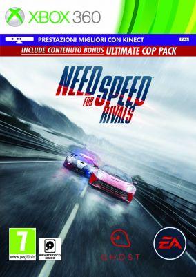 Copertina del gioco Need for Speed Rivals per Xbox 360