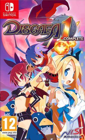 Immagine della copertina del gioco Disgaea 1 Complete per Nintendo Switch