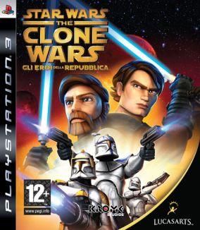Immagine della copertina del gioco Star Wars The Clone Wars: Gli Eroi della Repubblica per PlayStation 3