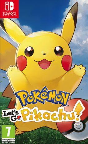 Immagine della copertina del gioco Pokémon: Let's Go, Pikachu! per Nintendo Switch