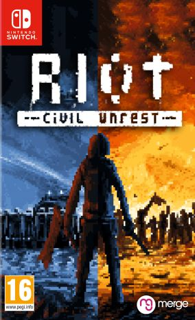 Copertina del gioco RIOT: Civil Unrest per Nintendo Switch