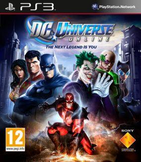 Copertina del gioco DC Universe Online per PlayStation 3