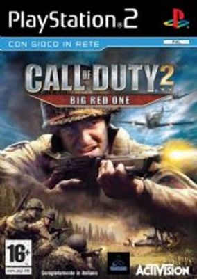 Immagine della copertina del gioco Call of Duty - Big red one per PlayStation 2