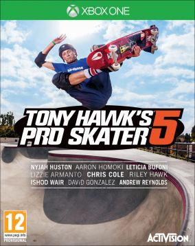 Copertina del gioco Tony Hawk's Pro Skater 5 per Xbox One