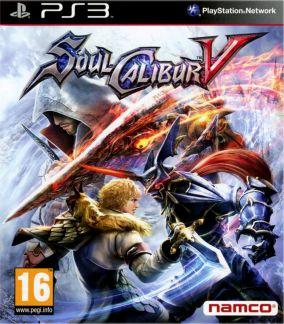 Copertina del gioco Soul Calibur V per PlayStation 3