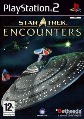 Immagine della copertina del gioco Star Trek Encounters per Playstation 2