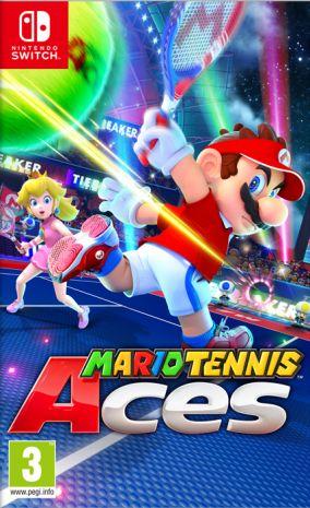 Immagine della copertina del gioco Mario Tennis Aces per Nintendo Switch