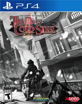 Immagine della copertina del gioco The Legend of Heroes: Trails of Cold Steel II Relentless Edition per PlayStation 4