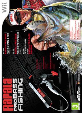 Immagine della copertina del gioco Rapala Pro Bass Fishing per Nintendo Wii