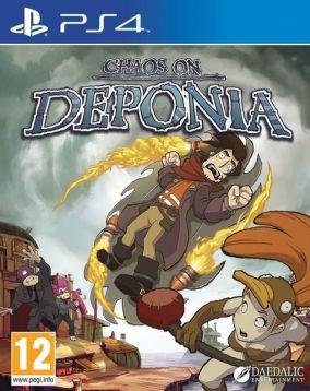Copertina del gioco Chaos on Deponia per Playstation 4