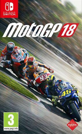 Immagine della copertina del gioco MotoGP 18 per Nintendo Switch