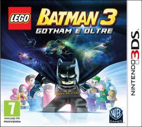 Immagine della copertina del gioco LEGO Batman 3: Gotham e Oltre per Nintendo 3DS