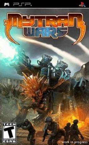 Immagine della copertina del gioco Mytran Wars per PlayStation PSP