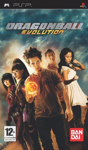 Immagine della copertina del gioco Dragon Ball Evolution per PlayStation PSP