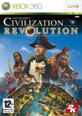 Copertina del gioco Sid Meier's Civilization Revolution per Xbox 360